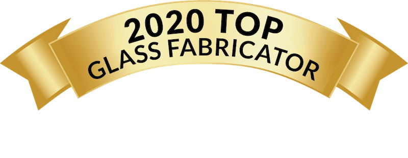 2020 Top Glass Fabricator, Natural Glass Association's Glass Magazine